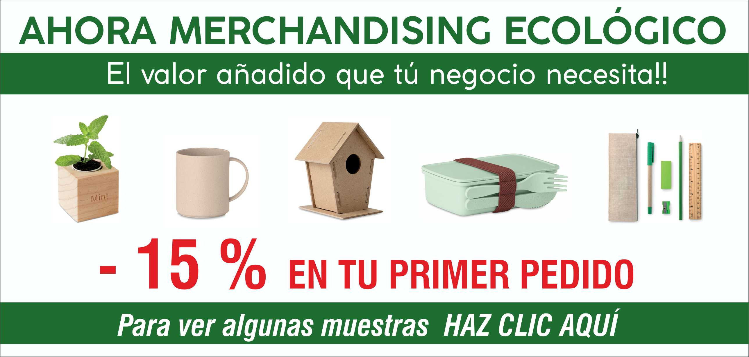 Catalogo merchandising eco