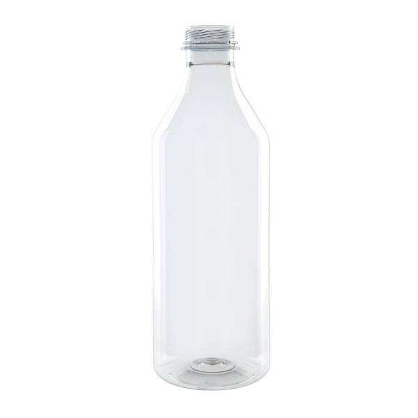 Botella rellenable de rPET, transparente, 1000ml (88 uds.)
