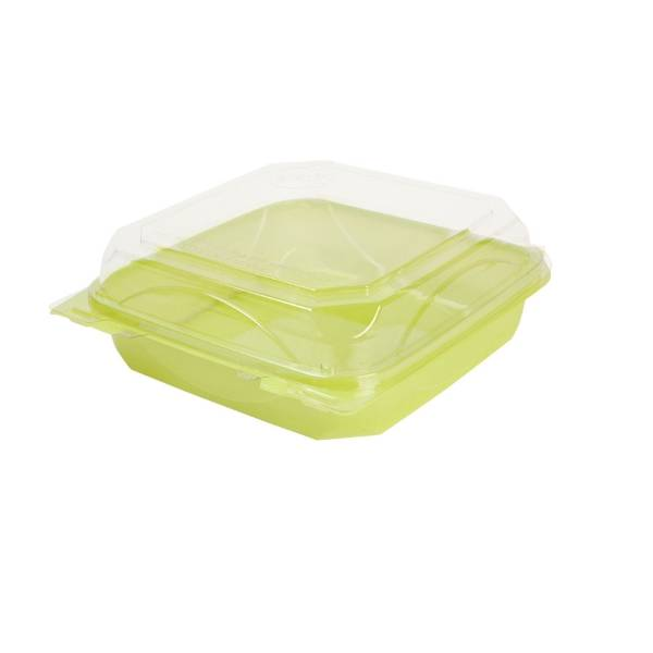 "Recipiente ""bottleBox"" rPET, verde, 1100 ml (200 uds.)"