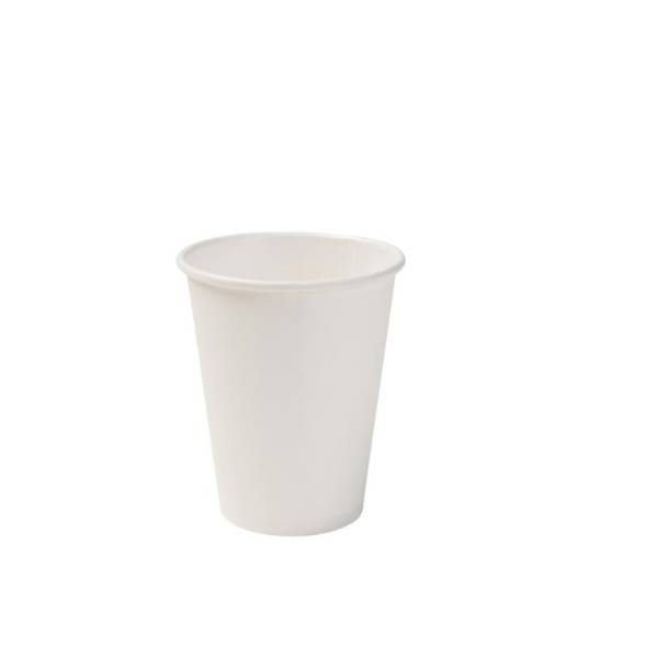 Vaso de cartón blanco eco, 200ml/8oz (1000 uds.)