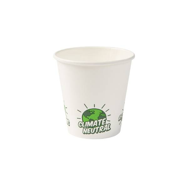 "Vaso de cartón blanco ""EcoUp©"", 150 ml / 6 oz (1000 uds.)"