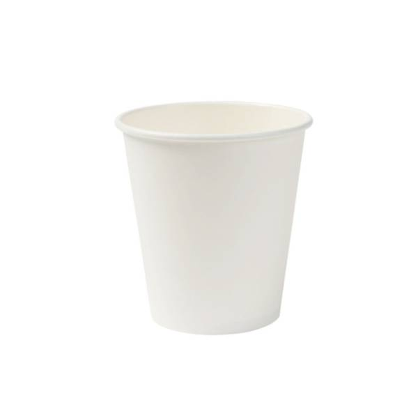 Vaso de cartón blanco eco, 250 ml / 10 oz (1000 uds.)